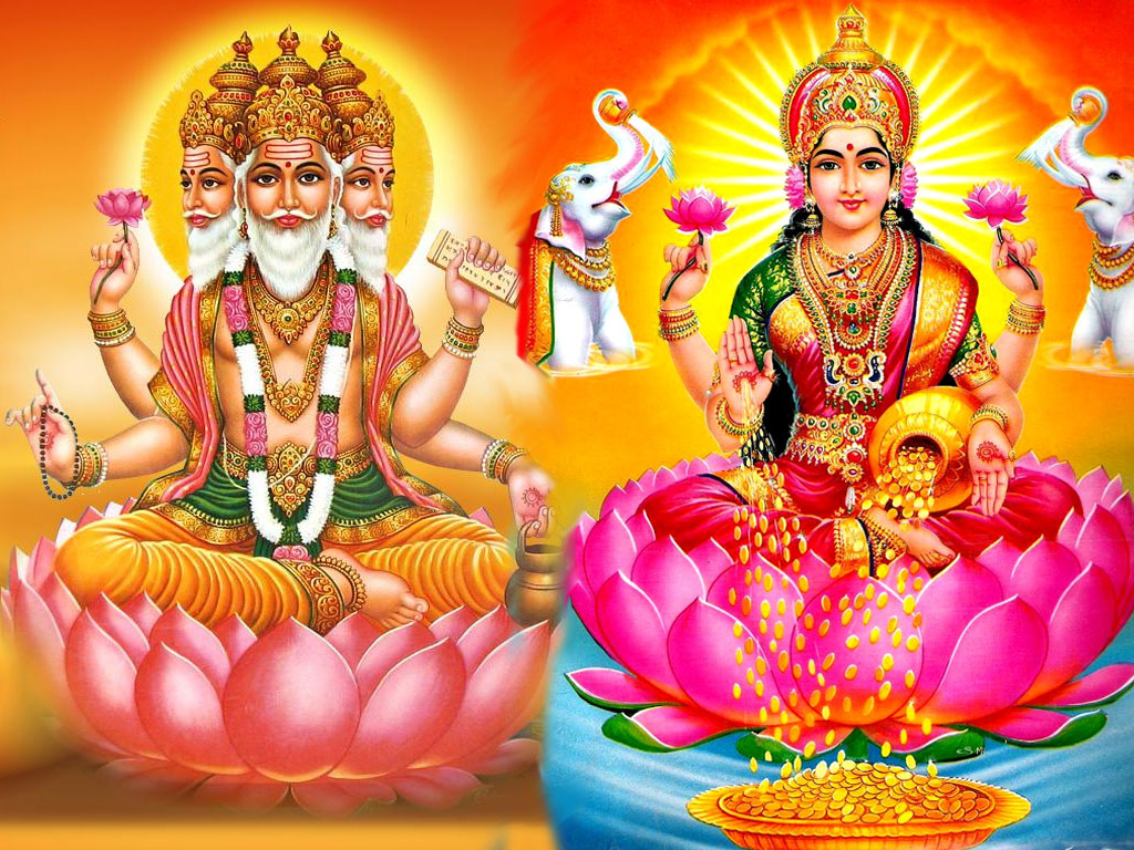 Brahma Gyan Consort Images And Wallpapers Brahma Saraswati Wallpapers