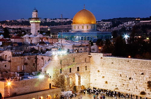 Jerusalem - The centre of Abrahamic Religions \(Ju