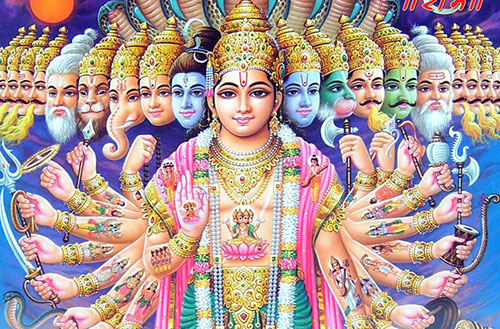 Lord Vishnu Wallpaper HD