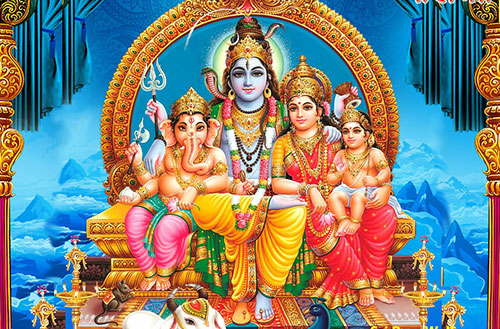 The Shiva Family