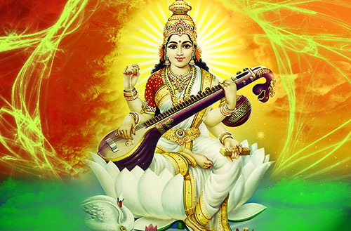 Goddess Saraswati Wallpapers
