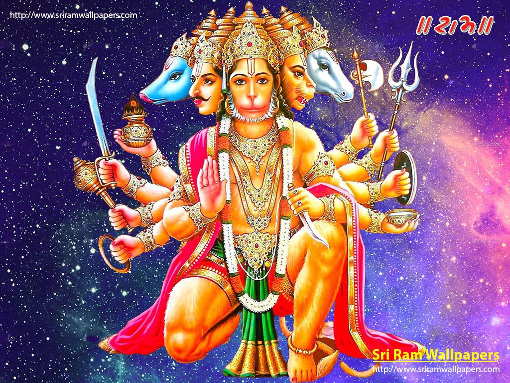 Wallpapers of hanuman ji for mobile fitrini 39 s wallpaper - Panchmukhi hanuman image ...