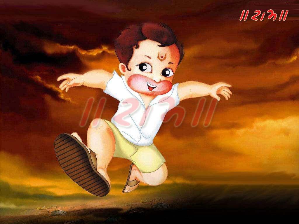 Bal Hanuman God Images And Wallpapers Sri Hanuman Wallpapers