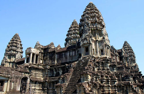 Angkor Wat Biggest Hindu Temple