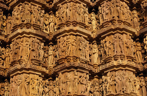 Khajuraho sculptures