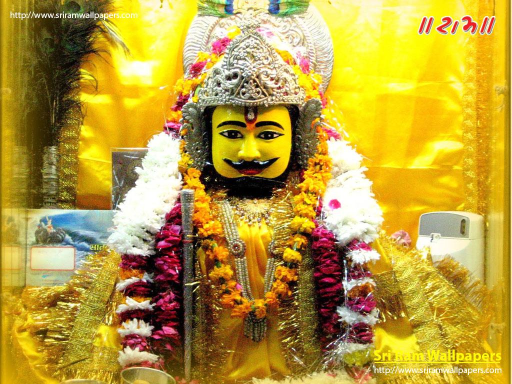 Teen Baan Dhari Khatushyam Temple Images And Wallpapers