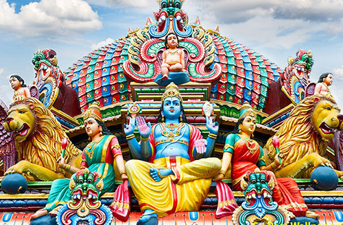 Mariamman Temple, Chinatown, Singapore
