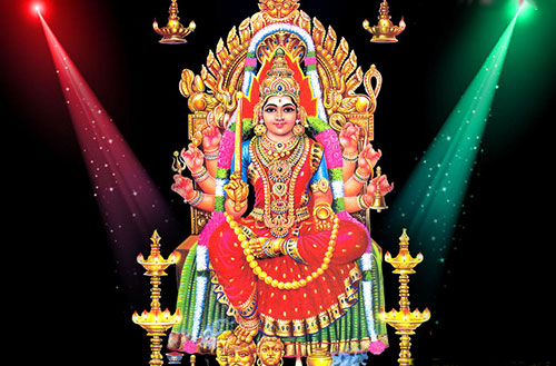 Mariamman Temple, The Goddess of Rain