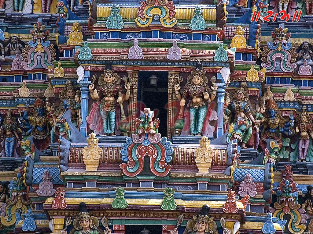Meenakshi temple sculptures