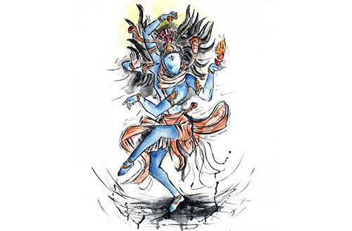 The Nataraja Position - Lord Shiva